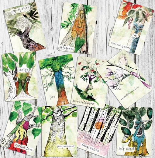 Tree Wisdom Cards by Lisa McLoughlin